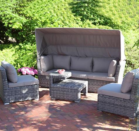 Polyrattan Lounge Möbel Bahama - Rattan-, Loom- & Korb-Möbel - looms