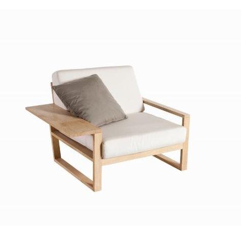 Teak Holz Lounge Möbel Lineal - Rattan-, Loom- & Korb-Möbel - looms
