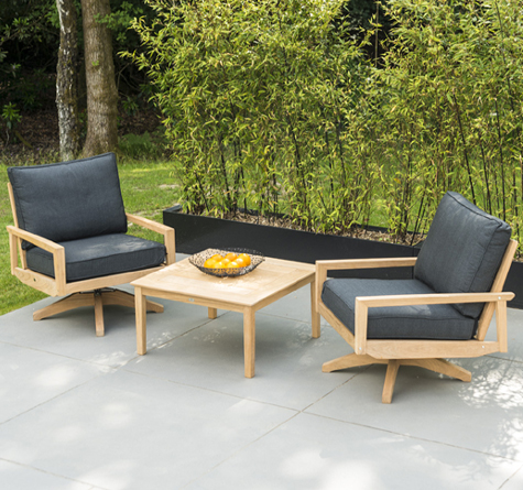 teak daybed lineal rattan loom korb m bel looms. Black Bedroom Furniture Sets. Home Design Ideas
