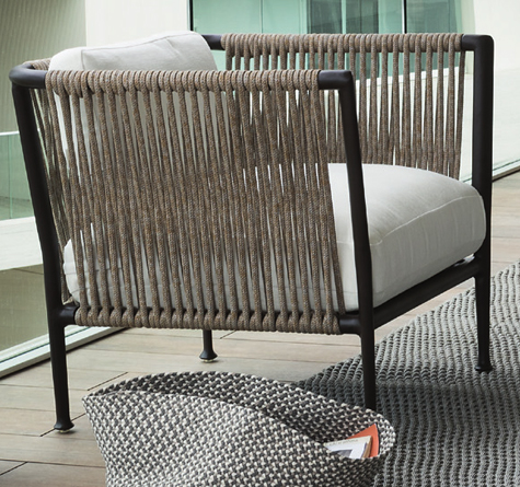 designer gartenm bel treble rattan loom korb m bel looms. Black Bedroom Furniture Sets. Home Design Ideas