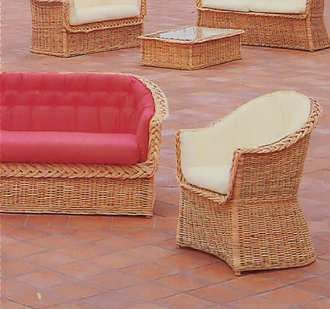 wintergartenm bel madera rattan loom korb m bel looms. Black Bedroom Furniture Sets. Home Design Ideas
