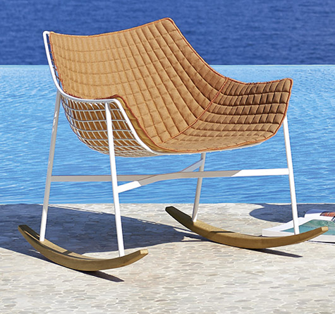 designer outdoor schaukelstuhl summerset rattan loom korb m bel looms. Black Bedroom Furniture Sets. Home Design Ideas