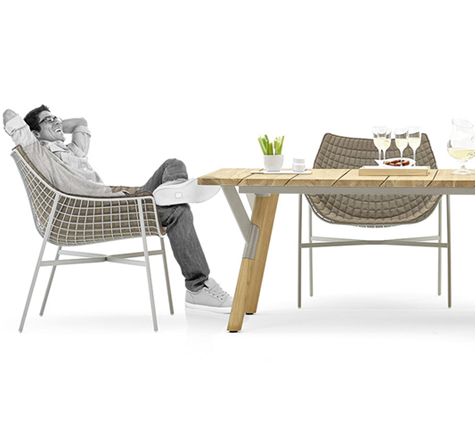 Casual Lounge Dining - Rattan-, Loom- & Korb-Möbel - looms