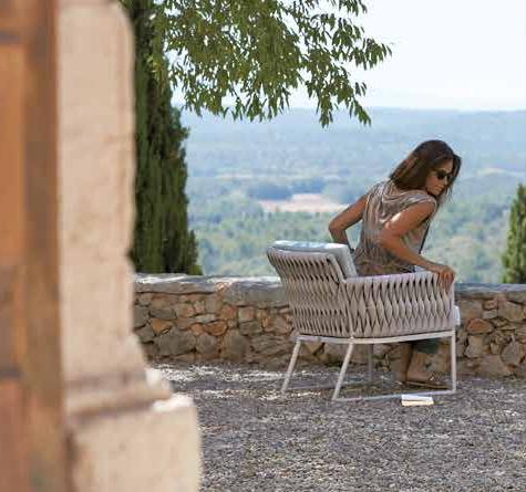 design gartenm bel basket lounge rattan loom korb. Black Bedroom Furniture Sets. Home Design Ideas