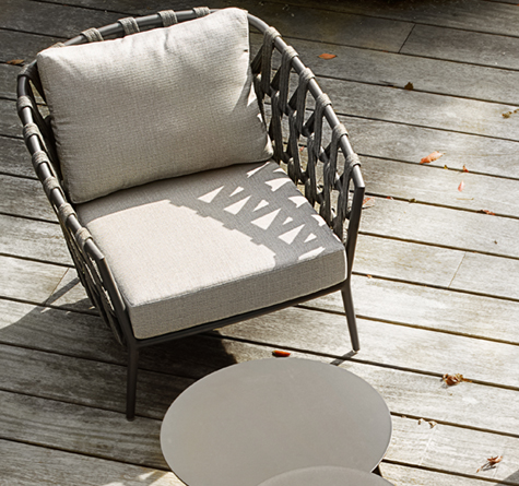 rope gartenm bel leo lounge rattan loom korb m bel looms. Black Bedroom Furniture Sets. Home Design Ideas