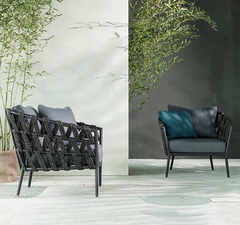 Rope Gartenmöbel Leo Lounge - Rattan-, Loom- & Korb-Möbel - looms
