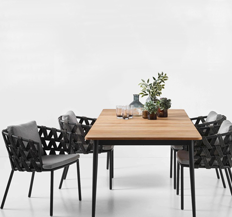 Design Gartenmöbel Leo Dining - Rattan-, Loom- & Korb-Möbel - looms