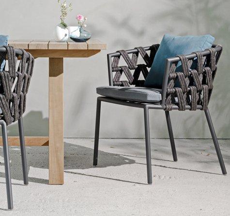 rope gartenm bel leo lounge rattan loom korb m bel. Black Bedroom Furniture Sets. Home Design Ideas