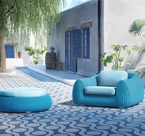 Lounge Gartenmöbel Kente - Rattan-, Loom- & Korb-Möbel - looms