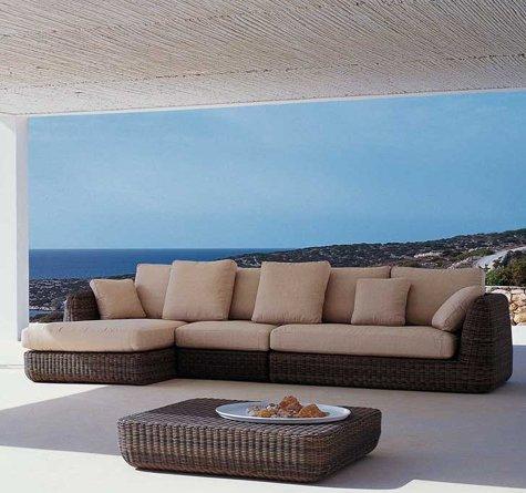 Moderne loungemöbel indoor  Rattan Loungemöbel Modern - Rattan-, Loom- & Korb-Möbel - looms