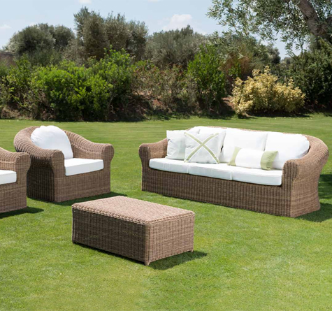 rattan gartenm bel cloe rattan loom korb m bel looms. Black Bedroom Furniture Sets. Home Design Ideas