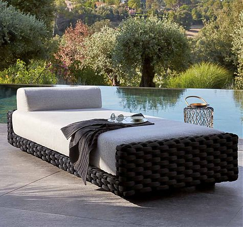 rattan gartenm bel modern rattan loom korb m bel looms. Black Bedroom Furniture Sets. Home Design Ideas