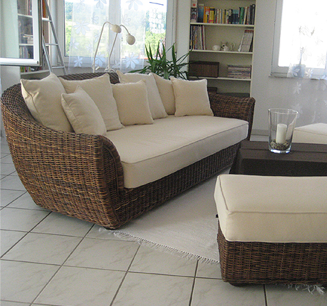 rattansofa retro rattan loom korb m bel looms. Black Bedroom Furniture Sets. Home Design Ideas